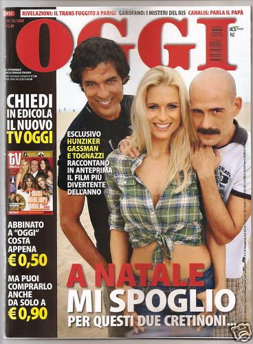 Michelle Hunziker - Oggi Magazine Cover [Italy] (14 December 2009)