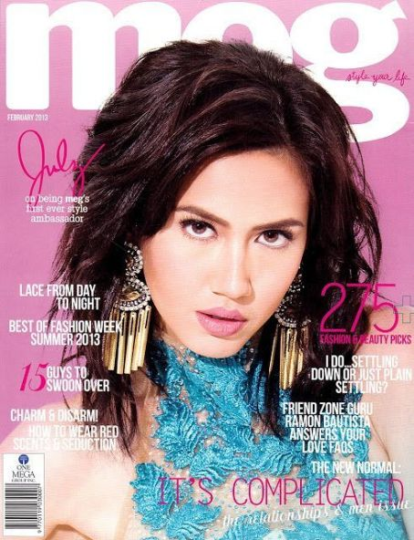 Julz Savard - Meg Magazine Cover [Philippines] (1 February 2013)
