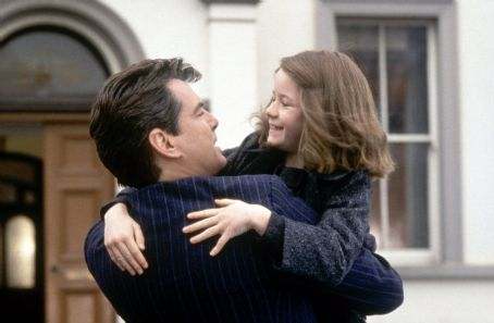 Sophie Vavasseur Pierce Brosnan as Desmond Doyle and  as Evelyn in MGM's Evelyn - 2002