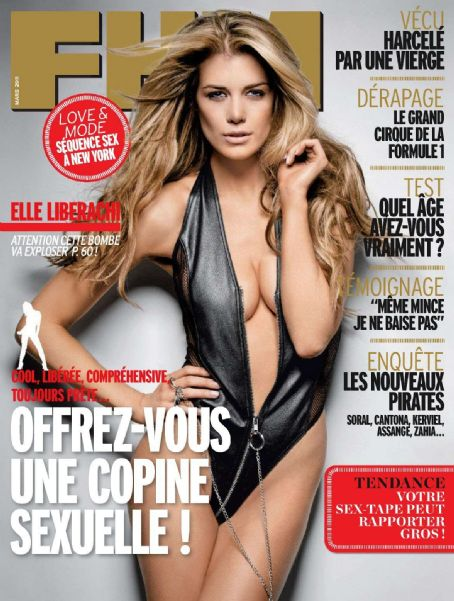 Elle Liberachi - FHM Magazine Cover [France] (March 2011)