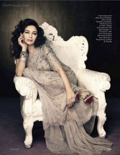Madhuri Dixit Vogue India August 2011