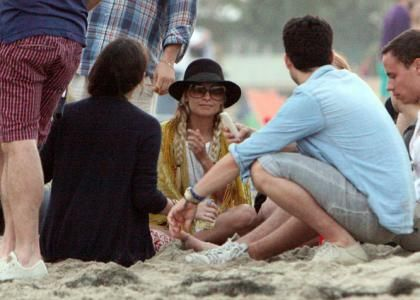 Nicole Richie's Fourth of July Beach Bash