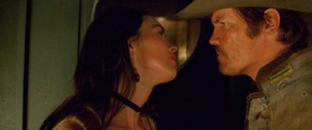 MEGAN FOX as Lilah and JOSH BROLIN as Jonah Hex in Warner Bros. Pictures' and Legendary Pictures' action adventure 'JONAH HEX,' a Warner Bros. Pictures release. TM &© DC Comics. Photo courtesy of Warner Bros. Pictures