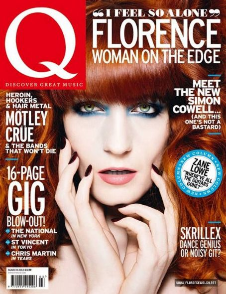 Florence Welch Q Magazine UK March 2012