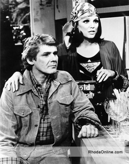 Valerie Harper  with Richard Schaal