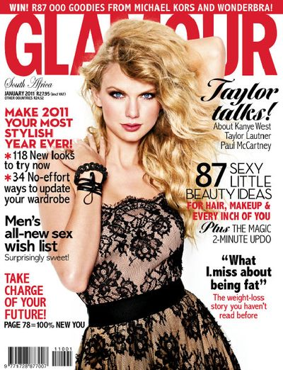 Taylor Swift - Glamour Magazine Cover [South Africa] (January 2011)