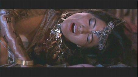 Cassandra Kelly Hu plays The Sorceress in action adventure movie The Scorpion King - 2002 distributed by Universal Pictures