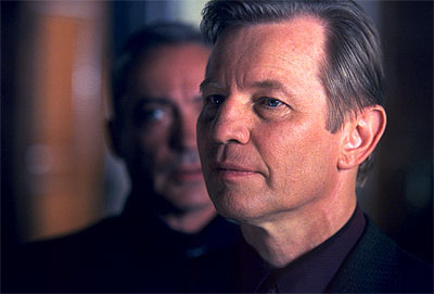 Megiddo: The Omega Code 2 Udo Kier and Michael York in 8X Entertainment's Megiddo - 2001