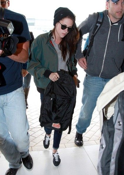 Kristen Stewart Takes Off From Down Under