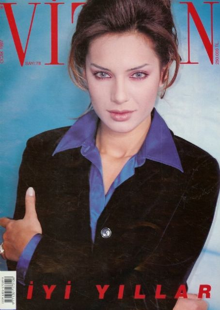 Eysan Özhim - Vizyon Magazine Cover [Turkey] (January 1997)
