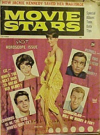 Natalie Wood - Movie Stars Magazine Cover [United States] (October 1962)