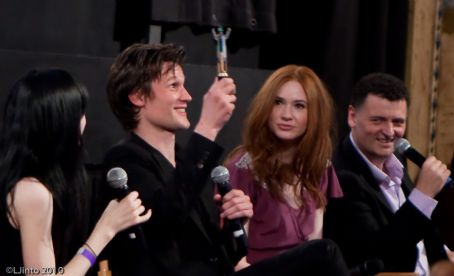 Karen Gillan promotion of Doctor Who