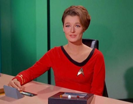 Diana Muldaur as Dr. Miranda Jones on Star Trek