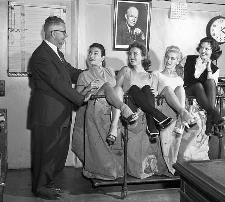 Dani Crayne Left to right, the girls are: Mara Corday; Gia Scala; dani Crayne; and Jane Howard.