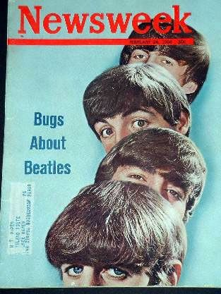 Ringo Starr - Newsweek Magazine [United States] (24 February 1964)