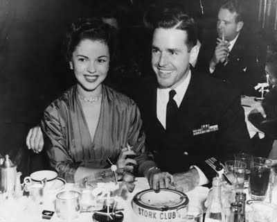 Shirley Temple and Charles Black