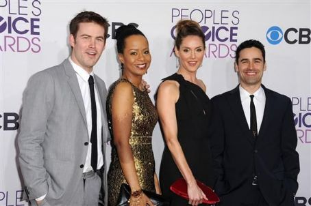 Tempestt Bledsoe Zach Cregger, , Erinn Hayes and Jesse Bradford attend the 2013 People's Choice Awards at Nokia Theatre L.A. Live in Los Angeles on Jan. 9, 2013
