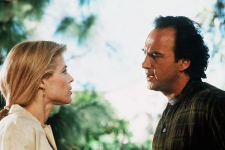 Linda Hamilton and James Belushi in Separate Lives (1995)