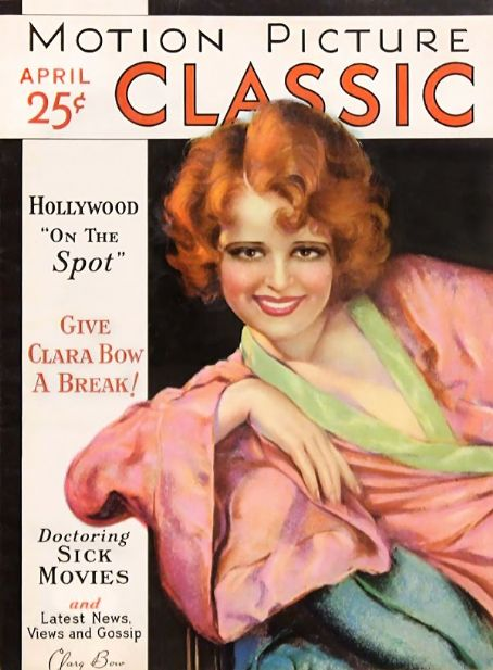 Clara Bow - Motion Picture Classic Magazine [United States] (April 1931)
