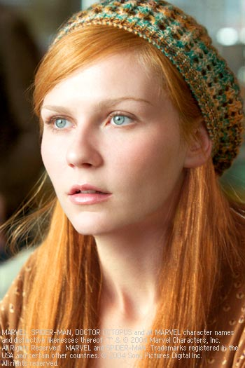 Mary Jane Watson Kirsten Dunst as  in Spider-Man 2