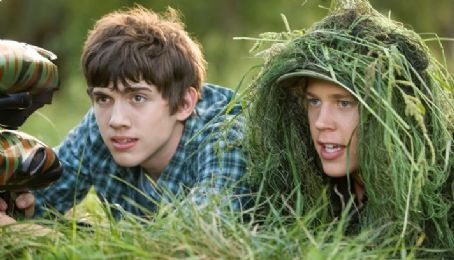 Austin Butler - Carter Jenkins as Tom Pearson and Austin Robert Butler as Jake in adventure fantasy 'Aliens in the Attic.'