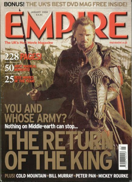 Viggo Mortensen - Empire Magazine [United Kingdom] (January 2004)