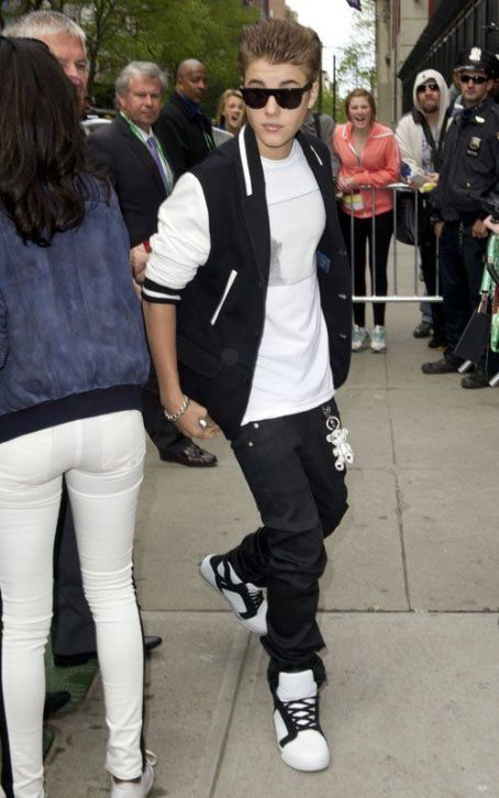 Justin Bieber: Drops by the 2012 Tribeca Film Festival