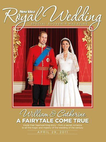 Prince William Windsor, Kate Middleton - New Idea Magazine Cover [Australia] (31 April 2011)