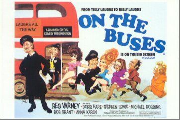 On the Buses (1969) Poster