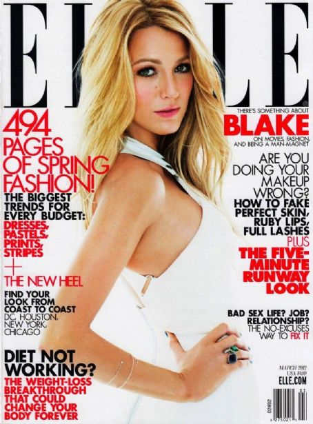 Blake Lively Elle US March 2012