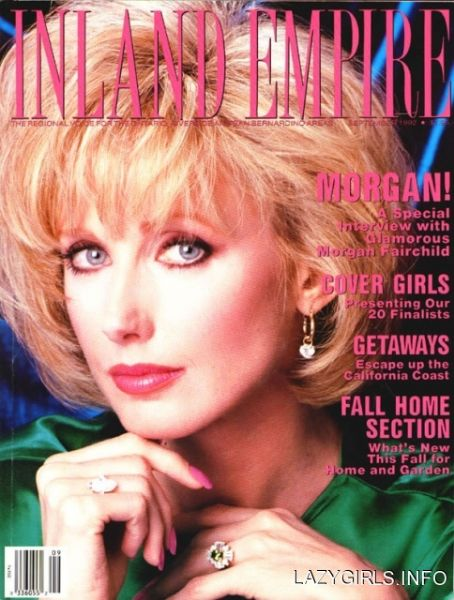 Morgan Fairchild - Inland Empire Magazine [United States] (September 1992)