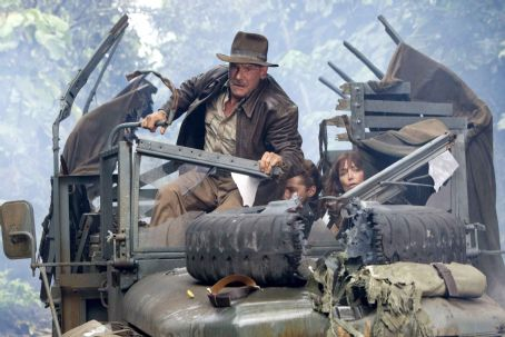 Marion Ravenwood (Left to right) Harrison Ford is back as Indiana Jones, co-starring with Shia LaBeouf as Mutt Williams and Karen Allen as , in 'Indiana Jones and the Kingdom of the Crystal Skull.' Photo Credit: David James. ™ & © 2008 Lucasfilm Lt