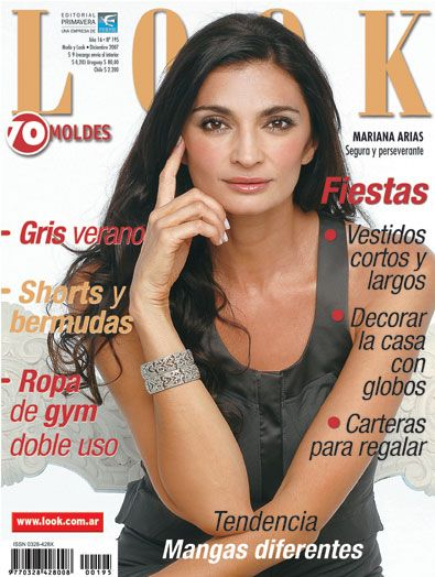 Mariana Arias - Look Magazine Cover [Argentina] (December 2007)