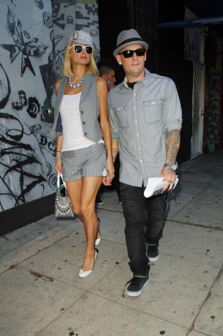 Paris Hilton & Benji Madden In Los Angeles, 2008-07-28