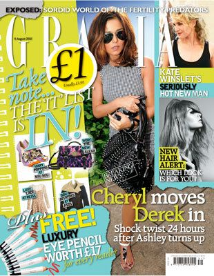 Cheryl Cole - Grazia Magazine Cover [United Kingdom] (3 August 2010)