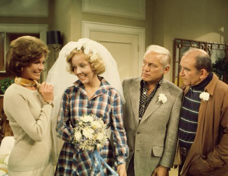 Gavin MacLeod - Wedding Day on M.T.M Show