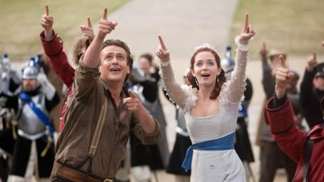 Gulliver's Travels Jason Segel as Horatio and Emily Blunt as Princess Mary in Twentieth Century Fox 'Gulliver's Travels.'