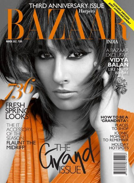 Vidya Balan Harper's Bazaar India March 2012