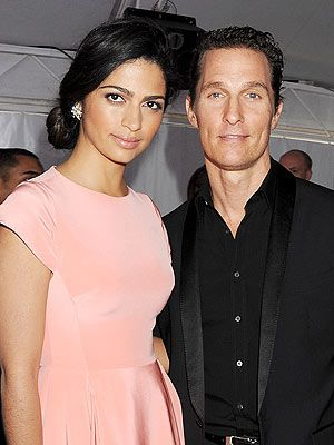 Matthew McConaughey and Camilla Alves Married!