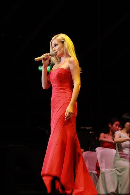 Katherine Jenkins - Performs In Hong Kong - 20.03.2011