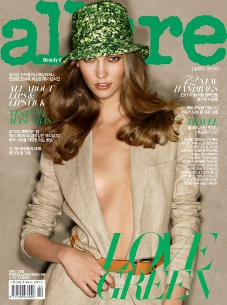 Karlie Kloss - Allure Magazine Cover [Korea, South] (April 2011)