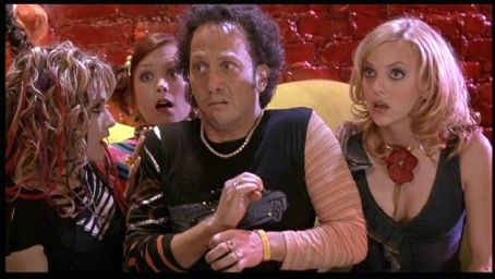 Alexandra Holden Samia Doumit, , Rob Schneider and Anna Faris in Touchstone's The Hot Chick - 2002