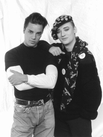 Nick Kamen  and Boy George