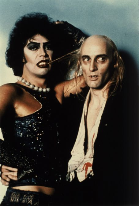 The Rocky Horror Picture Show Tim Curry and Richard O'Brien in The Rocky Horror Picture (1975)