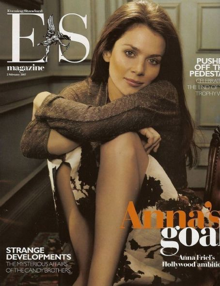 Anna Friel - Evening Standard Magazine Cover [United Kingdom] (2 February 2007)