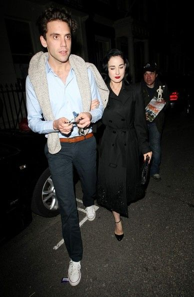 Dita Von Teese: at the Arts Club in London
