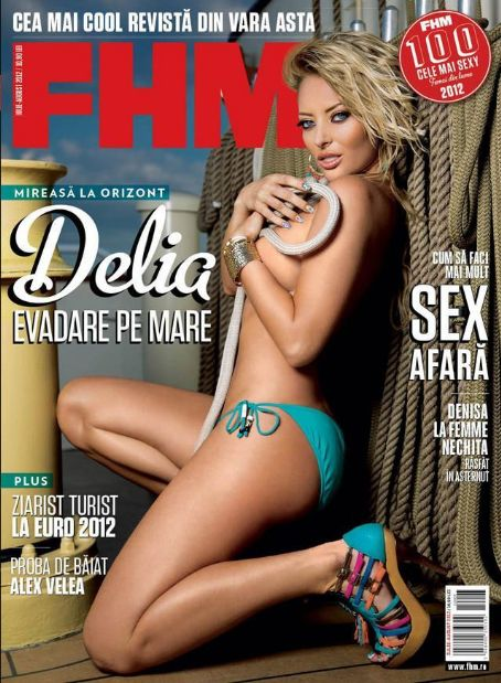 Delia Matache - FHM Magazine Cover [Romania] (July 2012)