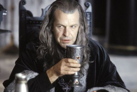 John Noble Denethor, the Steward of Gondor, () is bitter over the death of his son Boromir in New Line Cinema's epic adventure, The Lord of the Rings: The Return of the King.