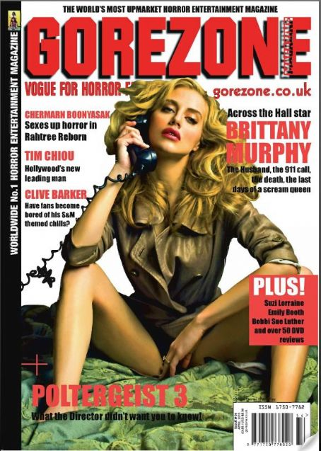 Brittany Murphy - GoreZone Magazine [United Kingdom] (1 April 2010)