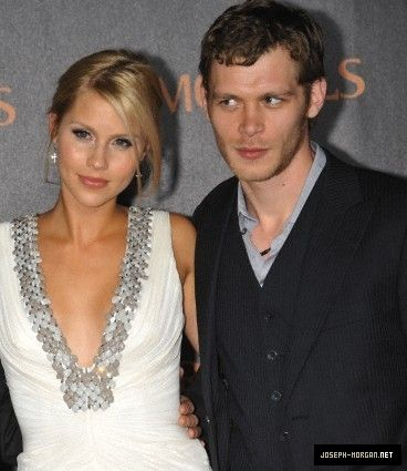Claire Holt and Joseph Morgan
